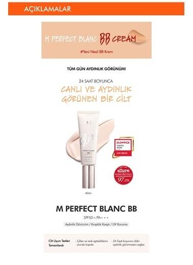 Missha Aydınlatıcı&Ton Eşitleyici Bb Krem 40Ml Spf50+Mıssha M Perfect Blanc Bb (Rosy / No.21) Renksiz
